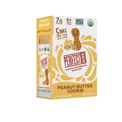 Perfect Kids Peanut Butter Cookie Bar - 1.06oz/5ct