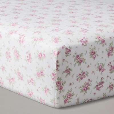 Fitted Crib Sheet Sunrise Rose - Simply Shabby Chic® Nursery Pink