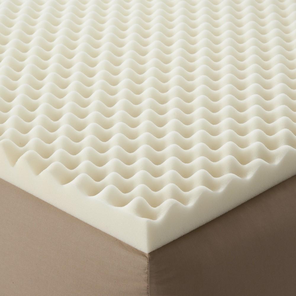 Enhance Highloft 2 Memory Foam Topper White Queen - Future Foam
