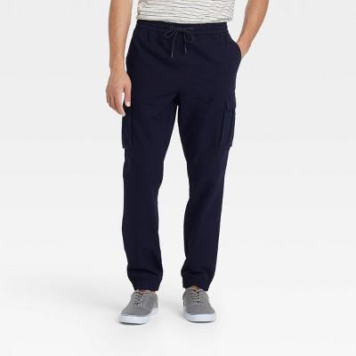 Men's Canvas Cargo Jogger Pants - Goodfellow & Co™