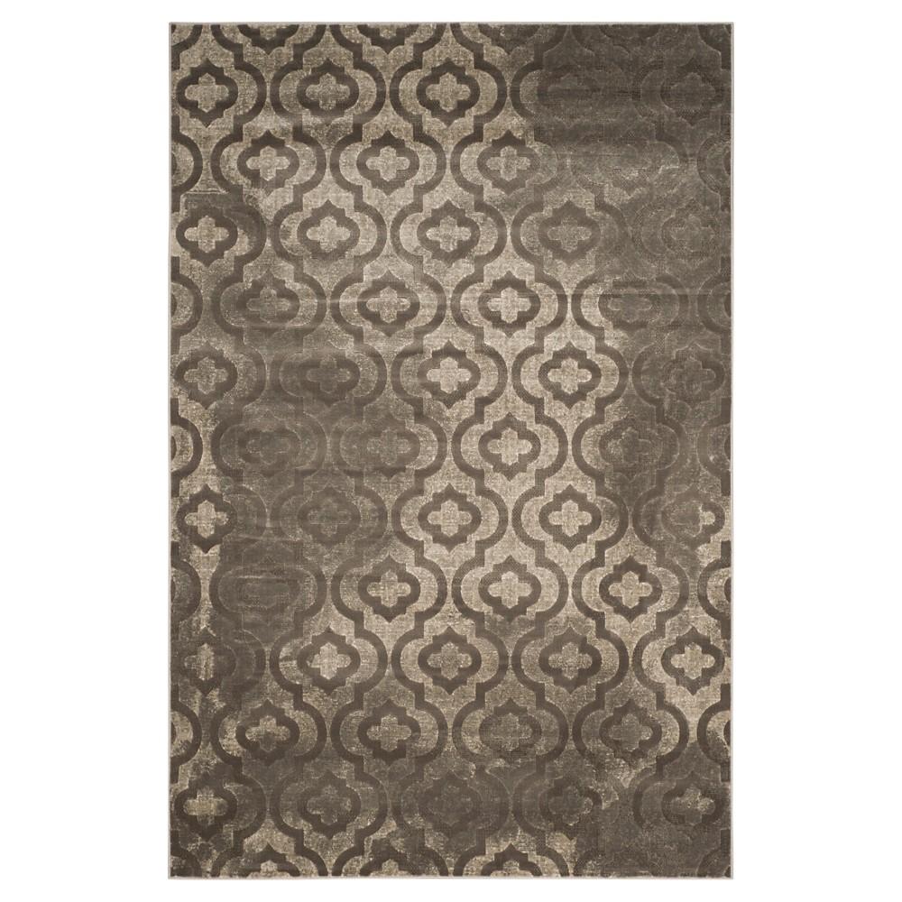 Milo Area Rug - Gray / Dark Gray ( 6' X 9' ) - Safavieh, Grey/Dark Grey