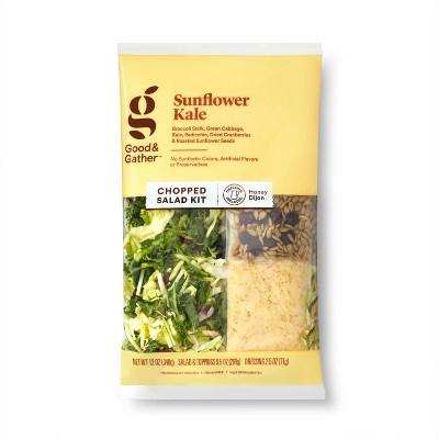 Sunflower Kale Chopped Salad Kit - 12oz - Good & Gather™