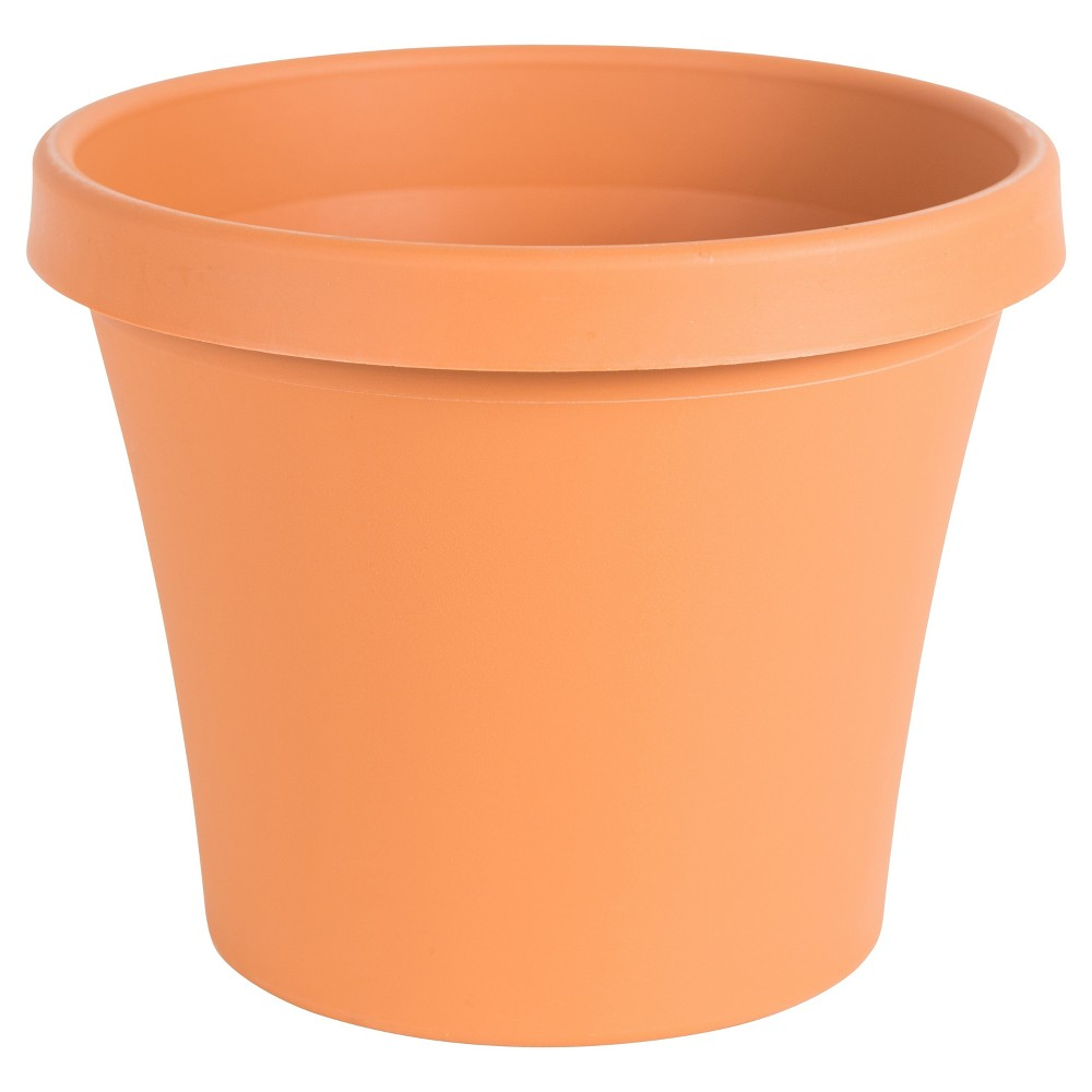 Image of 10 Terra Pot Planter Terra Cotta (Red) Bloem