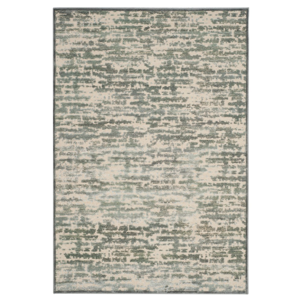 Gray Solid Loomed Area Rug - (5'3