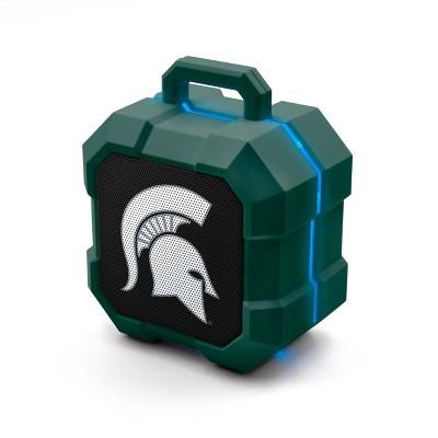 NCAA Michigan State Spartans LED Shock Box Bluetooth Speaker