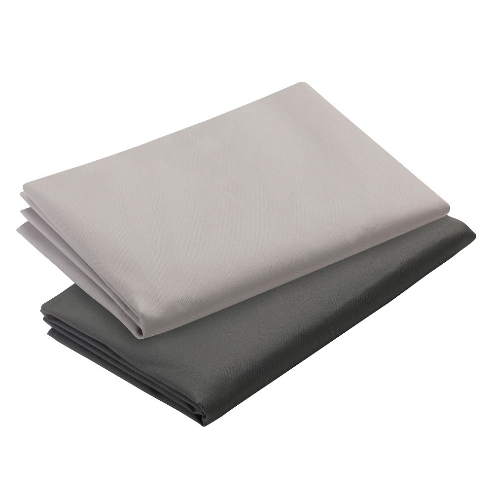 Image of Graco Pack 'n Play Playard Sheets 2 pk, Dark Gray/Light Gray