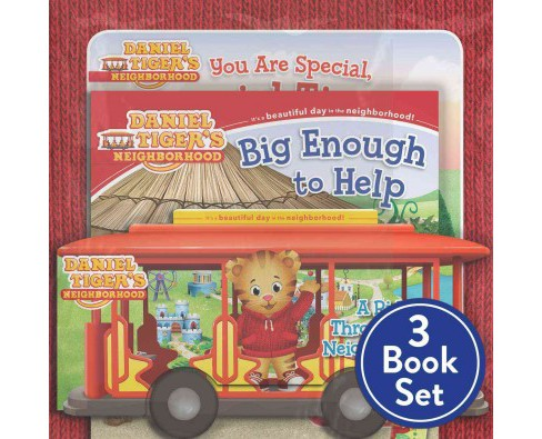 Daniel Tiger Set : You Are Special, Daniel Tiger! / a Ride Through the Neighborhood / Big Enough to Help - image 1 of 1