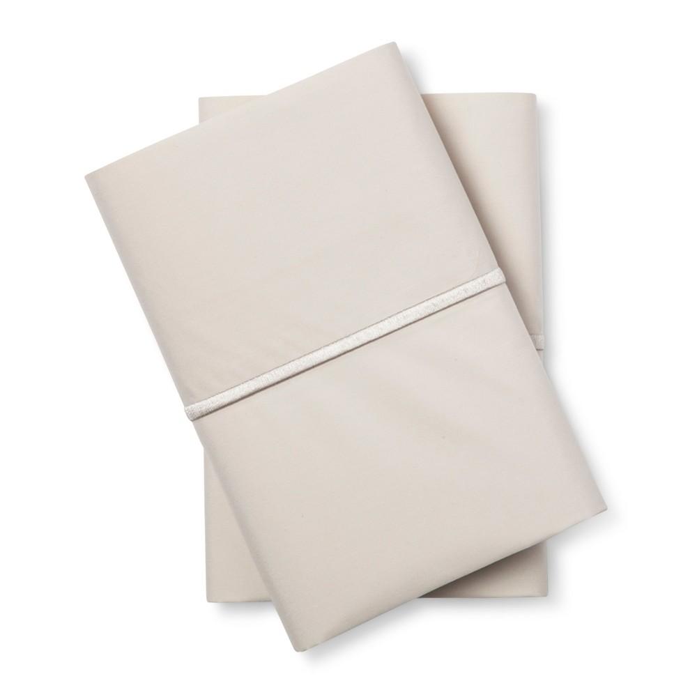 Hotel Single Baratta Pillowcase Set (King) Sea Salt (Blue) 300 Thread Count - Fieldcrest