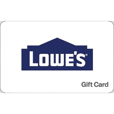 Lowe's $50 (Email Delivery)