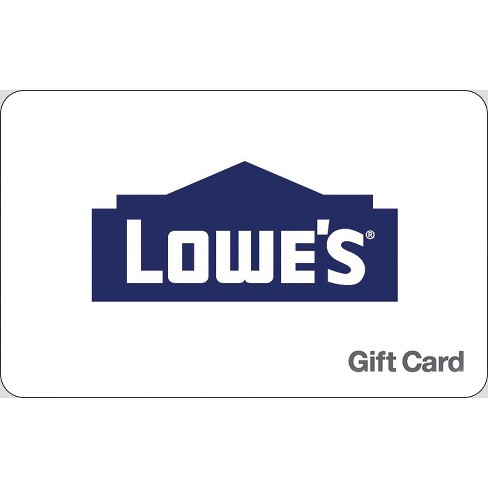 Lowe S Gift Card Email Delivery Target