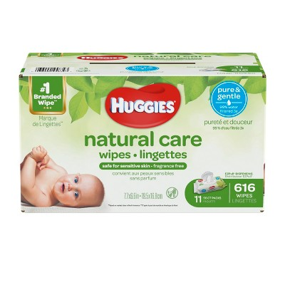 Huggies Wipes Natural Care Baby Wipes - 616ct