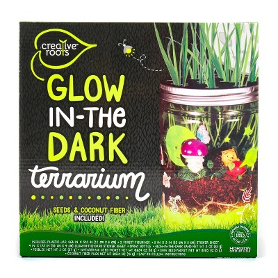 Creative Roots Glow in the Dark Terrarium