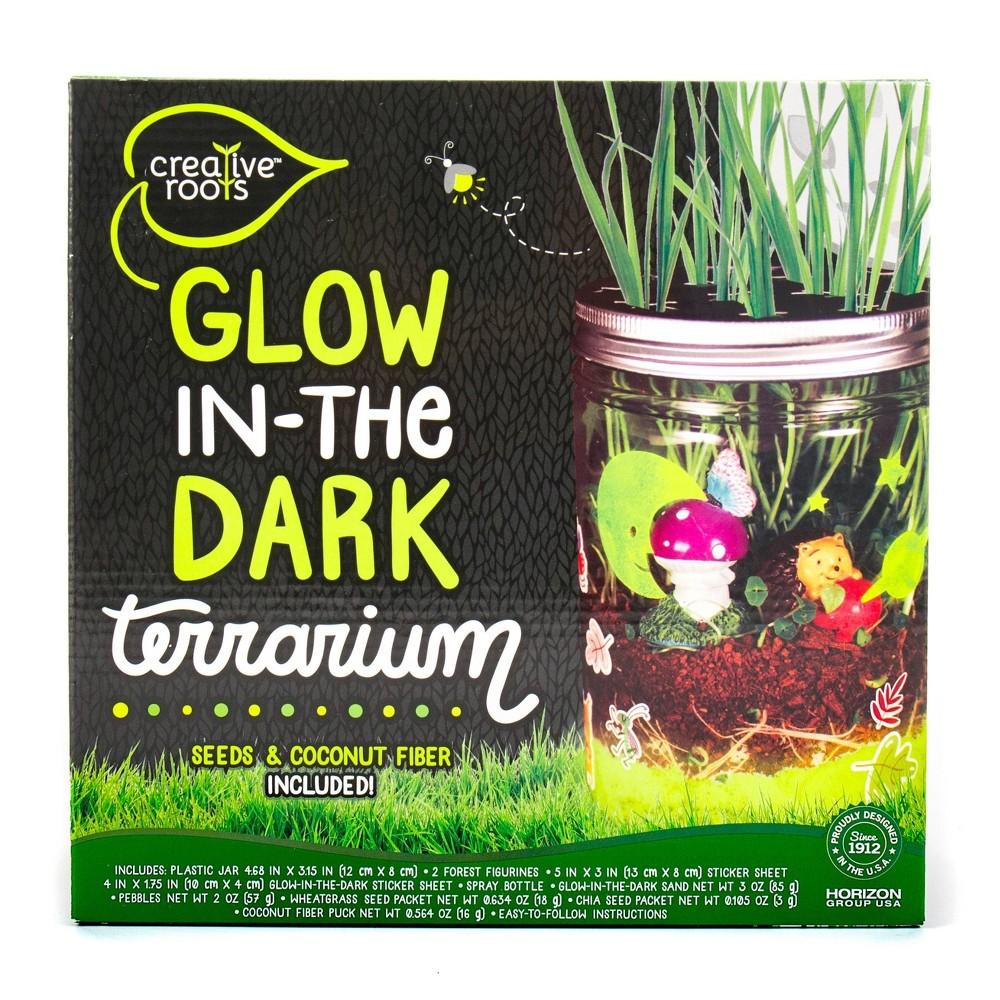Image of Creative Roots Glow in the Dark Terrarium
