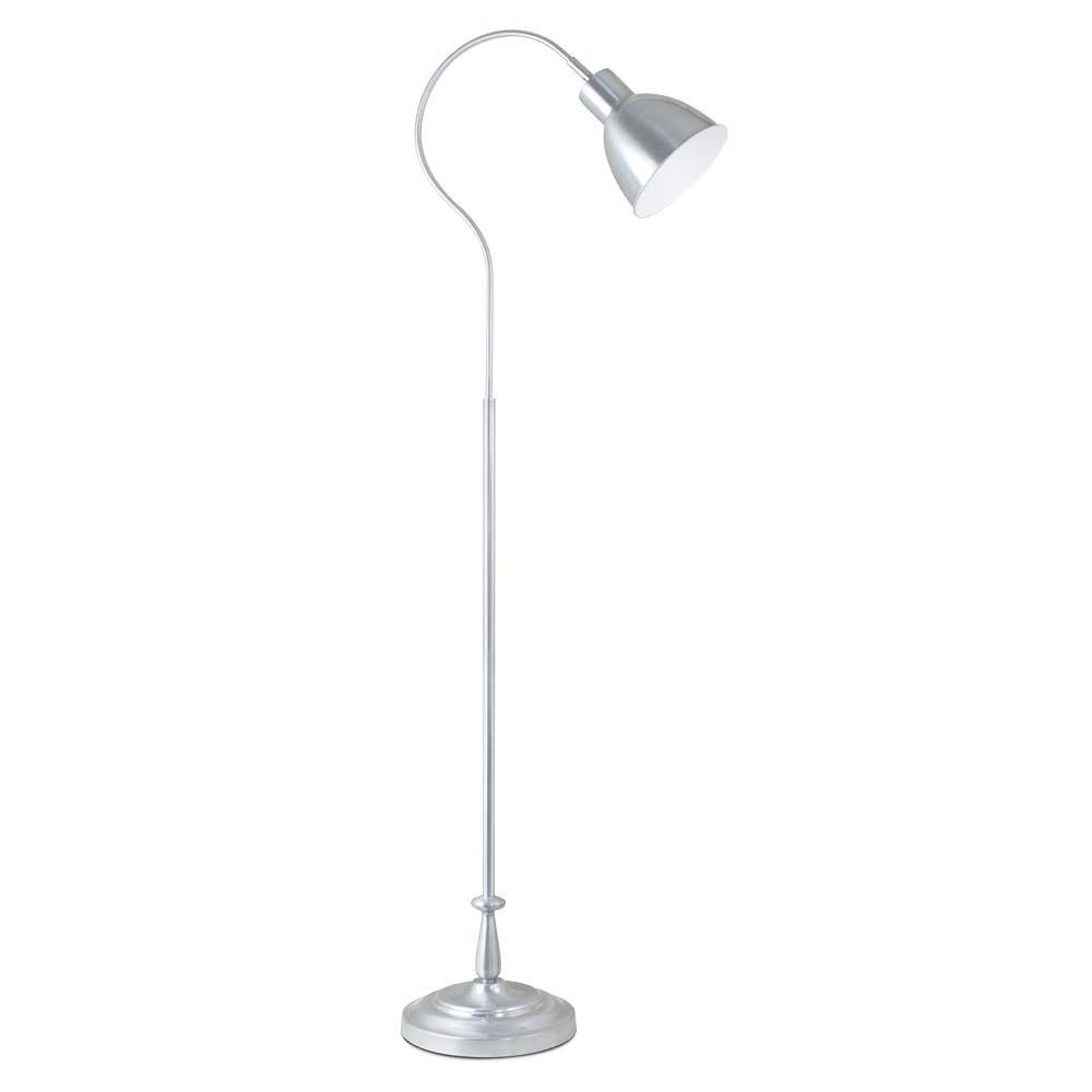 Image of Dawson Floor Lamp Light Silver (Includes Energy Efficient Light Bulb) - OttLite
