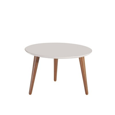 """23.62"""" Moore Round Mid - High Coffee Table - Manhattan Comfort"""