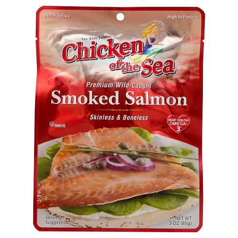 Chicken of the Sea Smoked Salmon Pouch 3 oz - image 1 of 1