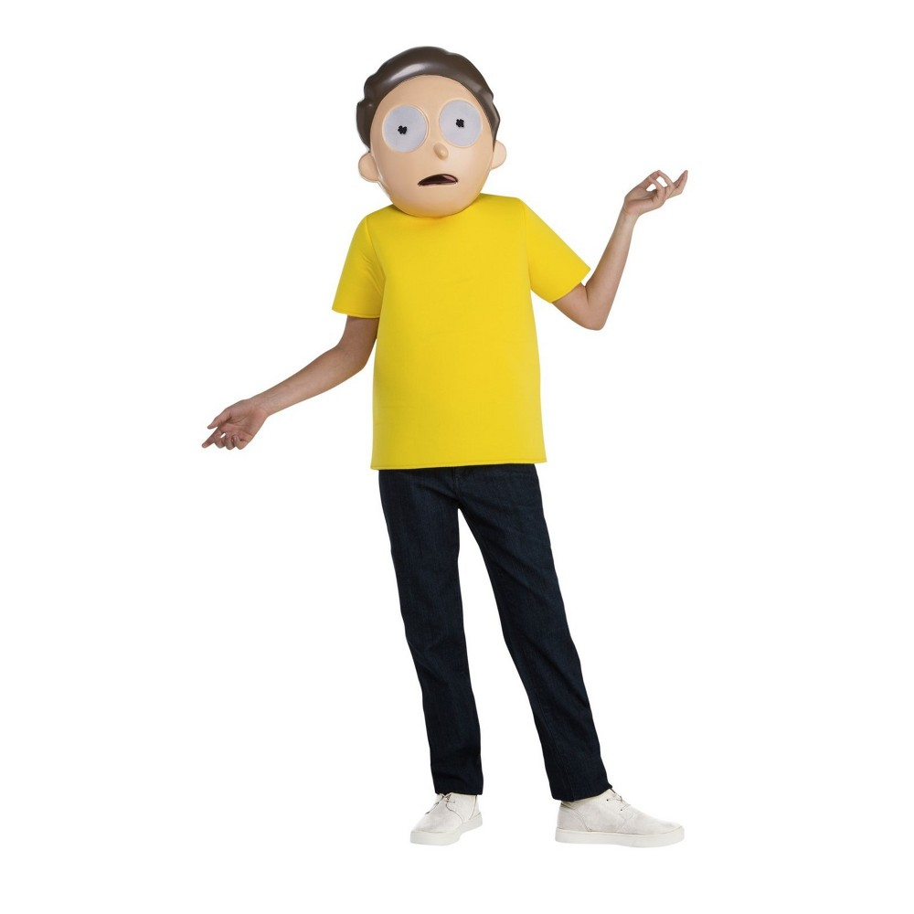 Image of Halloween Boys' Rick and Morty Morty Smith Halloween Costume XL, Boy's, MultiColored