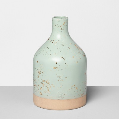 Jug Vase Speckled - Green - Hearth & Hand™ with Magnolia