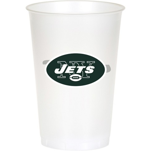8ct New York Jets Plastic Cups - image 1 of 1