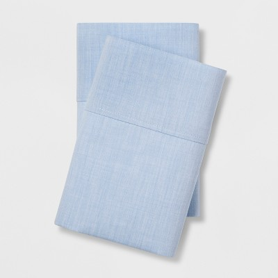 Standard Easy Care Pillowcase Set Light Blue - Made By Design™