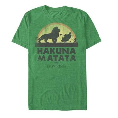 Men's Lion King Hakuna Matata Sunset Strut T-Shirt