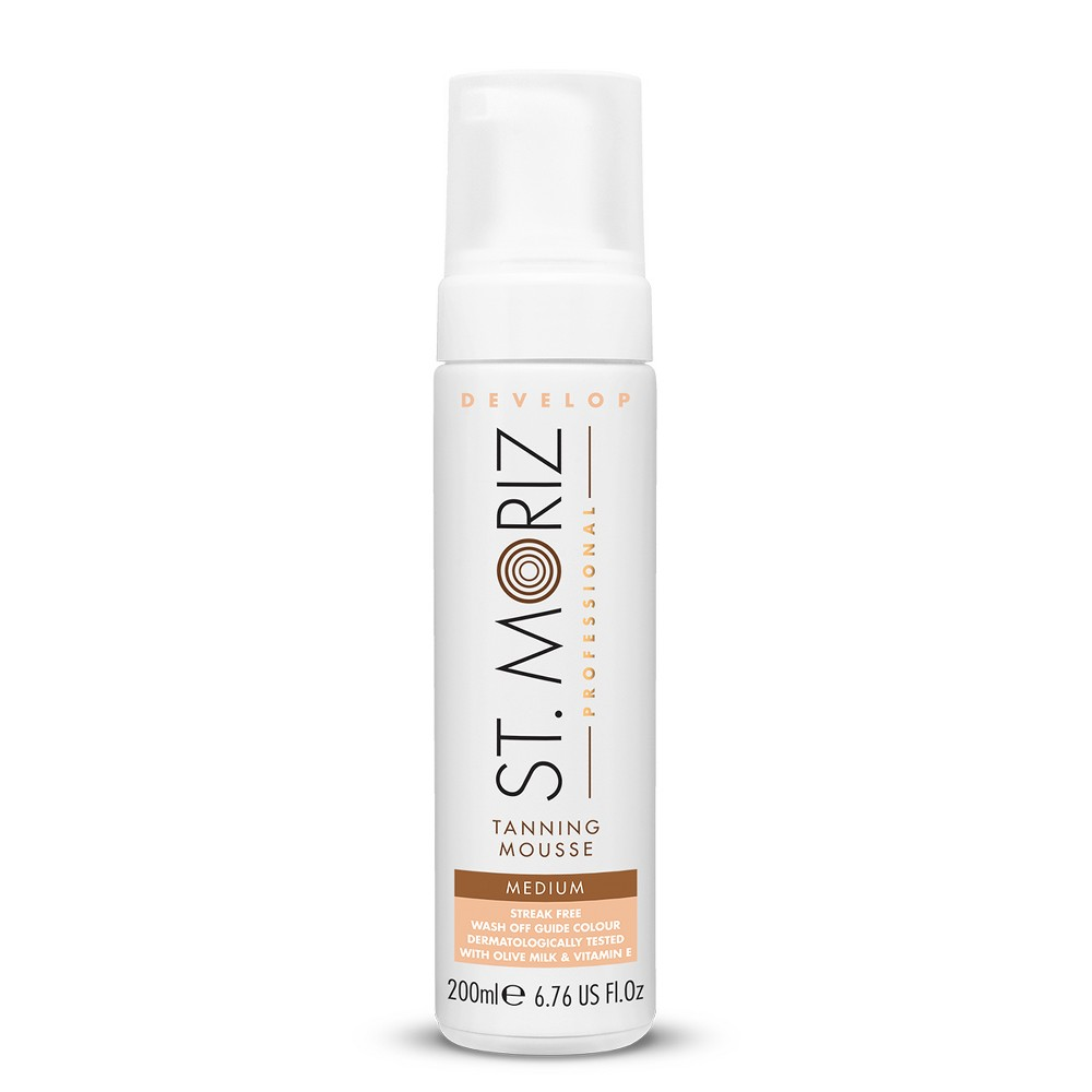 Image of St. Moriz Professional Instant Medium Self Tanning Mousse - 6.76oz