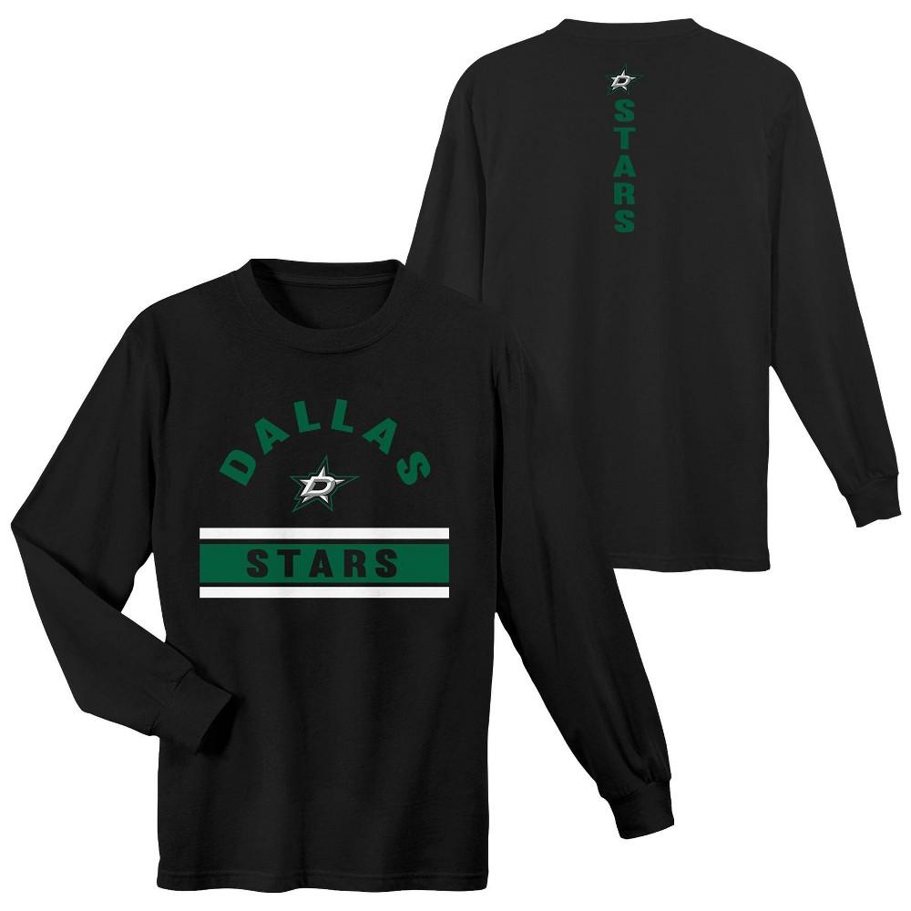 Dallas Stars Boys' Warming House Long Sleeve T-Shirt - L, Multicolored