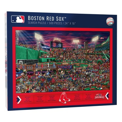 MLB Boston Red Sox 500pc Find Joe Journeyman Puzzle