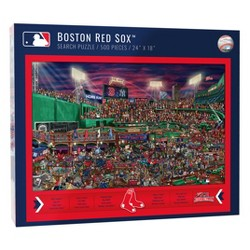 MLB Boston Red Sox 500pc Find Joe Journeyman Puzzle