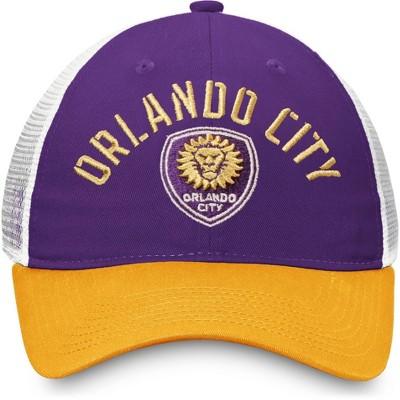 MLS Orlando City SC Men's White Mesh Back Snapback Hat
