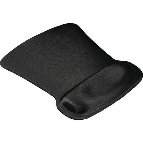 "Allsop Ergoprene Gel Mouse Pad with Wrist Rest - Black - (30191) - 1"" x 8"" x 11"" Dimension - Black - image 1 of 2"