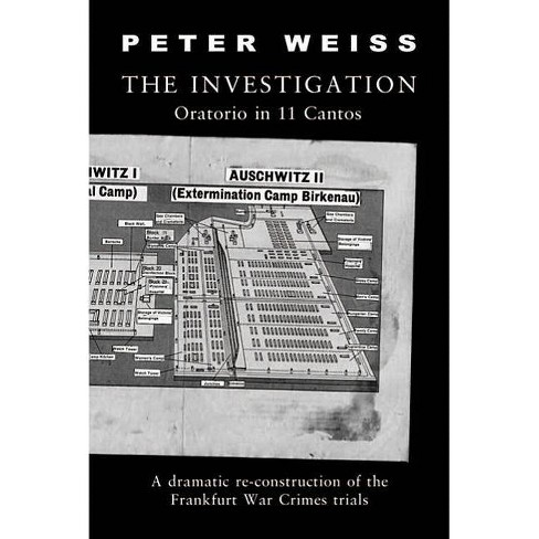 The Investigation - by  Peter Weiss (Paperback) - image 1 of 1