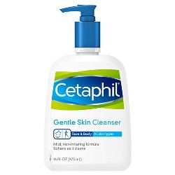 Cetaphil Skin Cleanser Unscented - 16oz