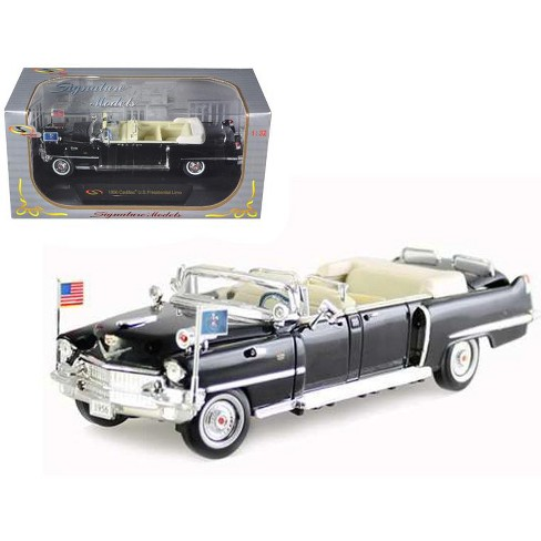 1956 Cadillac Presidential Limousine Black 1/32 Diecast Model Car by Signature Models - image 1 of 1