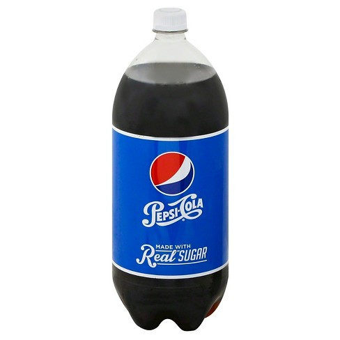 Pepsi Throwback made with Real Sugar Soda - 2L Bottle - image 1 of 1