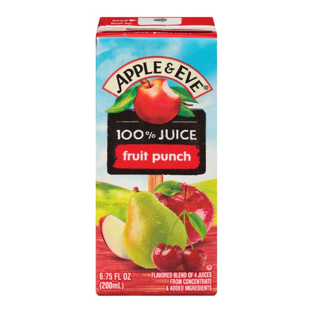 Apple & Eve 100% Juice Fruit Punch - 8pk/200mL Boxes