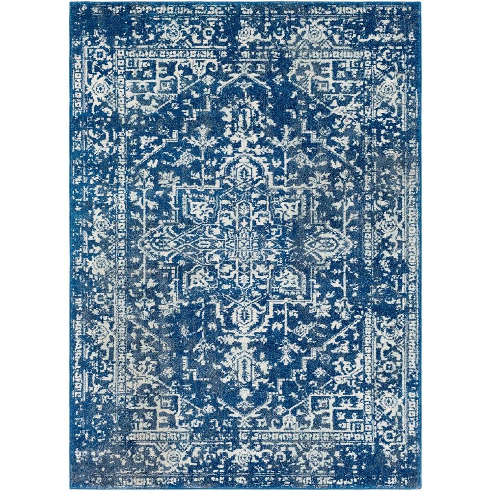 5 39 3 34 X7 39 3 34 Worsham Traditional Rug Dark Blue Artistic Weavers