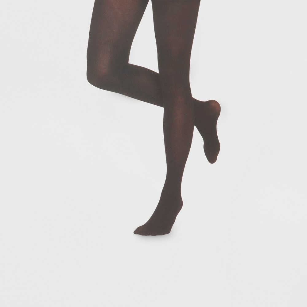 Women's Tights Semi Opaque Low Rise - Xhilaration Black S/M