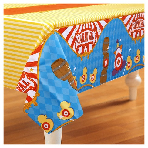 Carnival Games Rectangle Tablecover - image 1 of 2