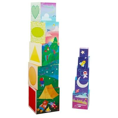 Educational Insights Bright Basics Nest & Stack Cubes