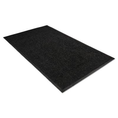 3'x5' Rectangle Solid Floor Mat Black - Guardian