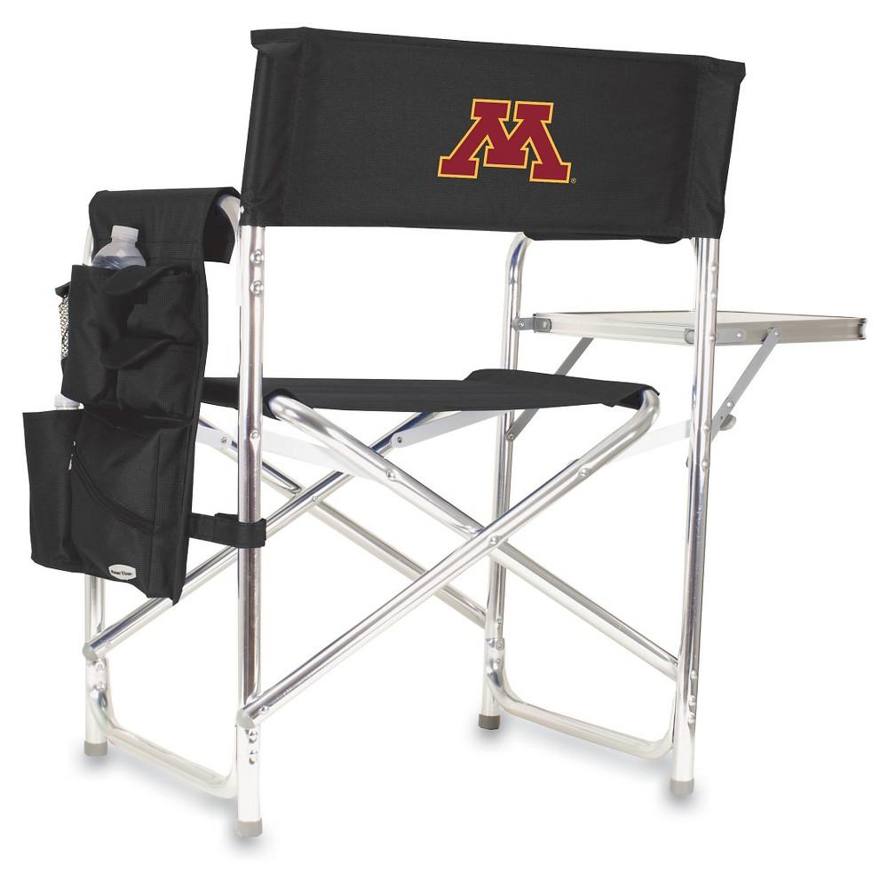 Portable Chair NCAA Minnesota Golden Gophers Black