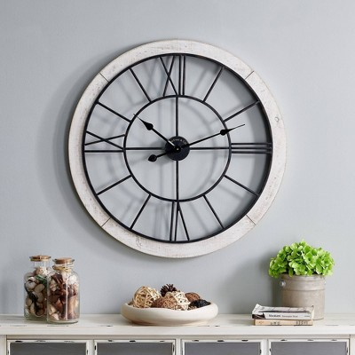 Firstime & Co. Timeworn Cottage Wall Clock