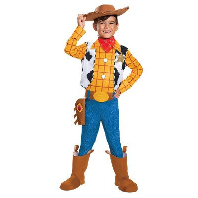 Kids' Toy Story Woody Deluxe Halloween Costume 3T-4T