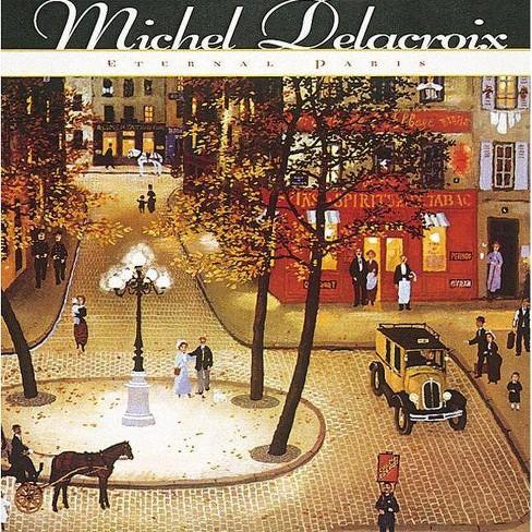 Michel Delacroix - by  Michel Delacroix & Sam Hunter (Hardcover) - image 1 of 1