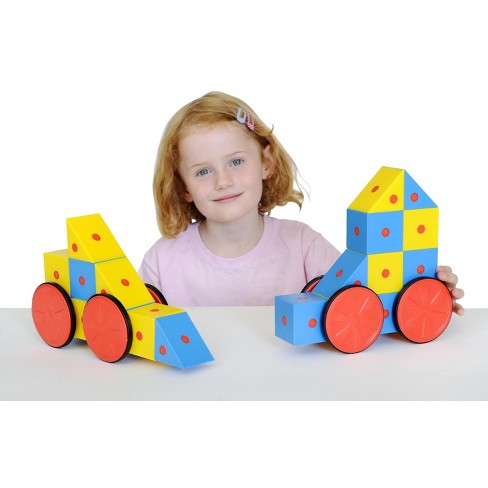 Educational Advantage 3D Magnetic Blocks, Assorted Colors, set of 20 - image 1 of 1