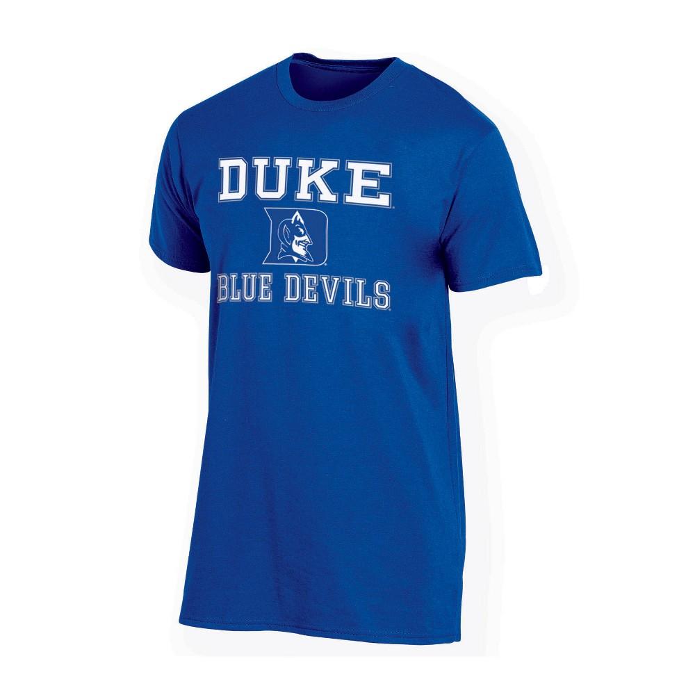 NCAA Men's Short Sleeve TC T-Shirt Duke Blue Devils - L, Multicolored