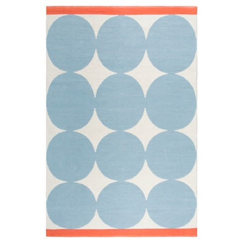 Rizzy Home 4'X6' Big Circles Loomed Rug - image 1 of 9