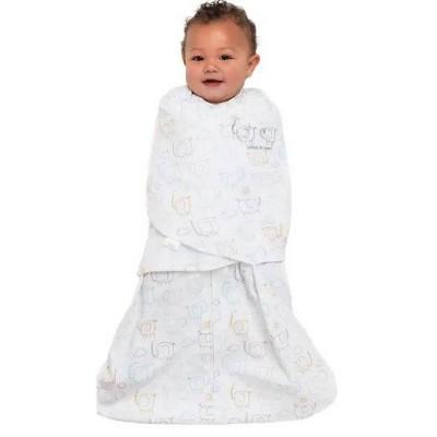 HALO Innovations 100% Cotton Sleepsack Swaddle Wrap Elephant - S