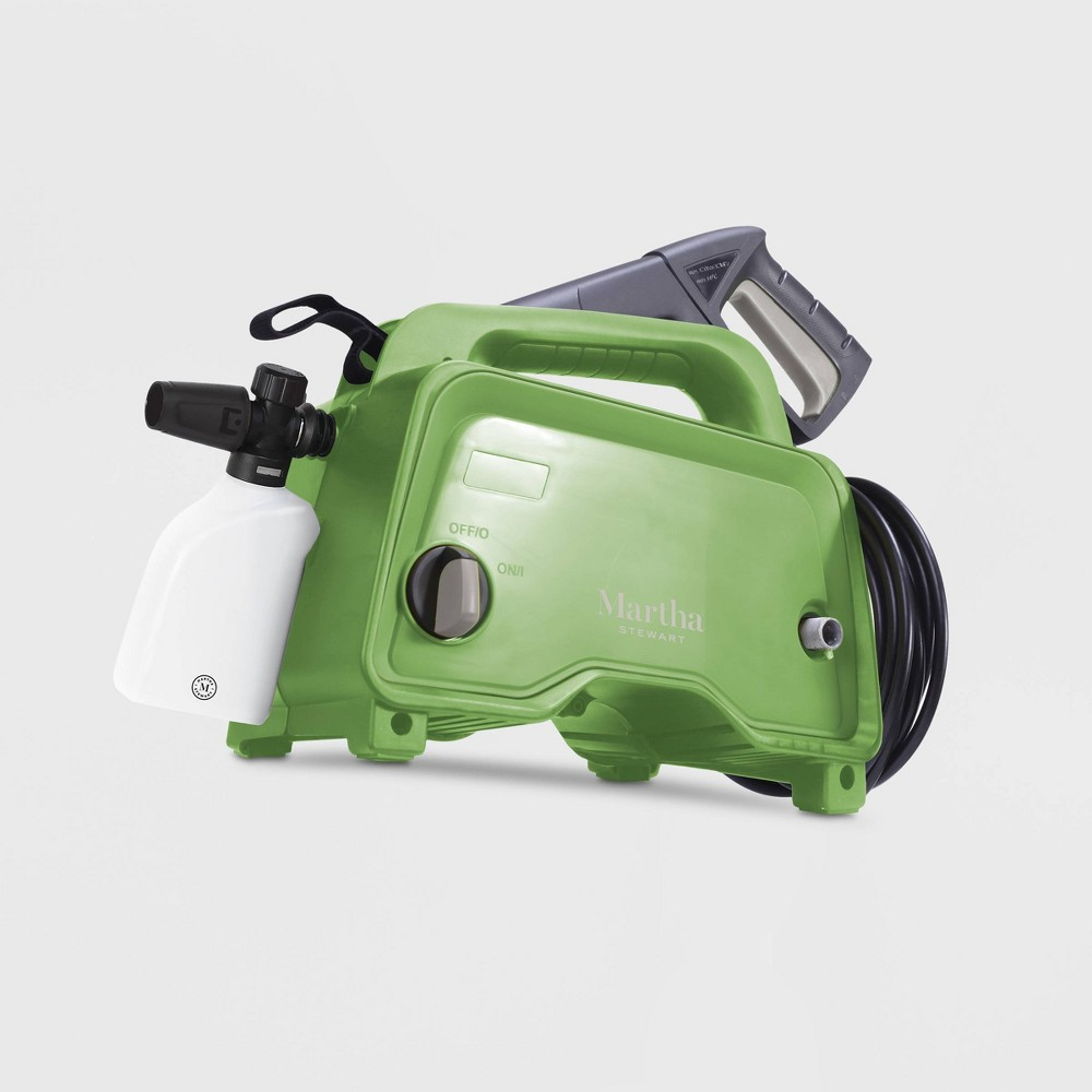 Image of 1450psi 11Amp 15 Electric Hand Carry Portable Pressure Washer Green - Martha Stewart